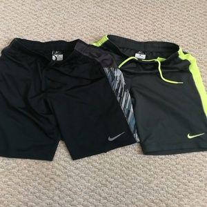 Nike Dri-fit boys shorts size M
